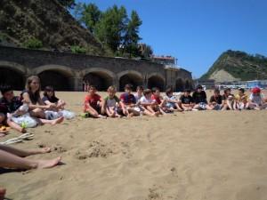 2010-11 Excursión a la playa
