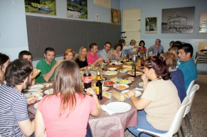 2012-13 Cena con padres